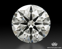 1.504 ct K VVS2 A CUT ABOVE® Hearts and Arrows Super Ideal Round Cut Loose Diamond