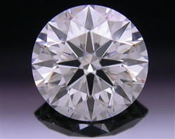 0.744 ct F VVS1 A CUT ABOVE® Hearts and Arrows Super Ideal Round Cut Loose Diamond
