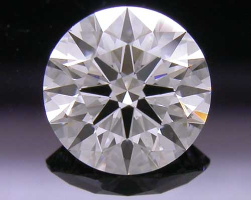 0.697 ct G SI1 A CUT ABOVE® Hearts and Arrows Super Ideal Round Cut Loose Diamond