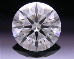 0.57 ct I SI1 A CUT ABOVE® Hearts and Arrows Super Ideal Round Cut Loose Diamond