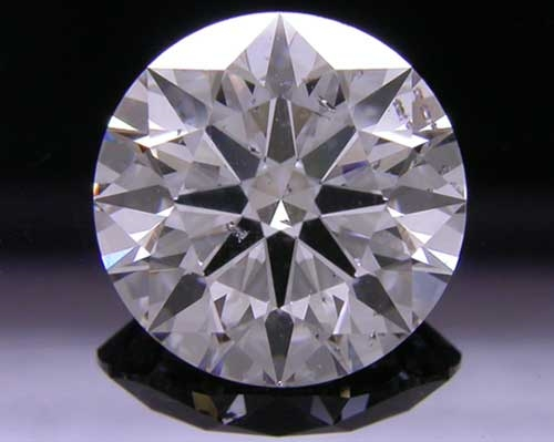 2.155 ct D SI2 A CUT ABOVE® Hearts and Arrows Super Ideal Round Cut Loose Diamond