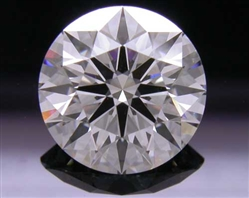 1.526 ct G VS2 A CUT ABOVE® Hearts and Arrows Super Ideal Round Cut Loose Diamond