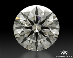1.518 ct G VS2 A CUT ABOVE® Hearts and Arrows Super Ideal Round Cut Loose Diamond