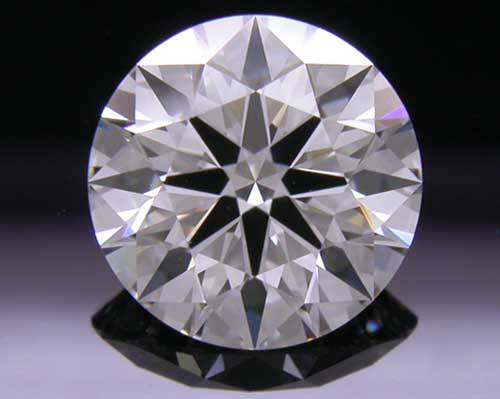1.236 ct F VS1 A CUT ABOVE® Hearts and Arrows Super Ideal Round Cut Loose Diamond