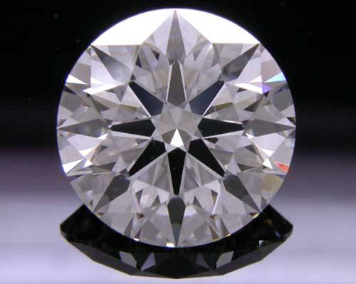 2.06 ct G VS2 A CUT ABOVE® Hearts and Arrows Super Ideal Round Cut Loose Diamond
