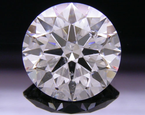 2.53 ct H SI2 A CUT ABOVE® Hearts and Arrows Super Ideal Round Cut Loose Diamond
