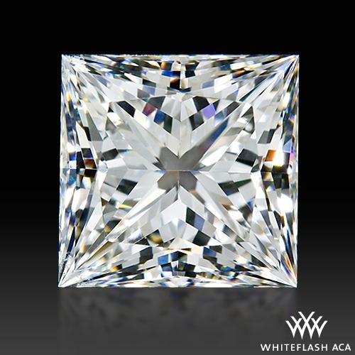 1.558 ct G VS2 A CUT ABOVE® Princess Super Ideal Cut Diamond