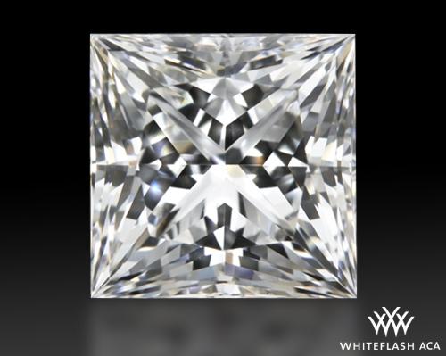 1.045 ct G VS1 A CUT ABOVE® Princess Super Ideal Cut Diamond