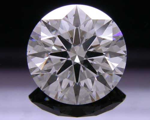 2.148 ct H SI1 A CUT ABOVE® Hearts and Arrows Super Ideal Round Cut Loose Diamond