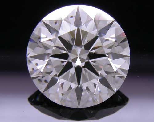 1.696 ct F SI2 A CUT ABOVE® Hearts and Arrows Super Ideal Round Cut Loose Diamond