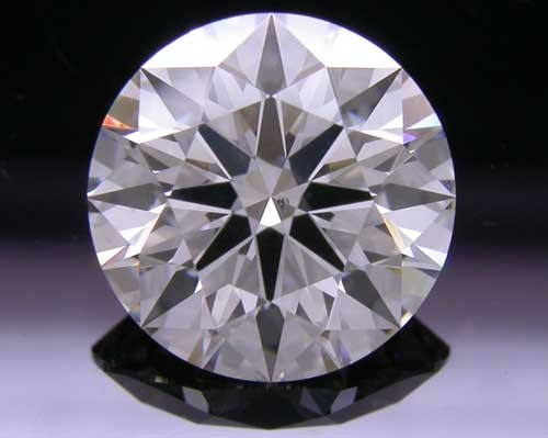 1.574 ct H SI1 A CUT ABOVE® Hearts and Arrows Super Ideal Round Cut Loose Diamond