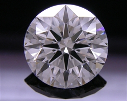 1.617 ct H SI1 A CUT ABOVE® Hearts and Arrows Super Ideal Round Cut Loose Diamond