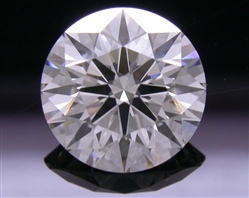 1.293 ct I SI1 A CUT ABOVE® Hearts and Arrows Super Ideal Round Cut Loose Diamond