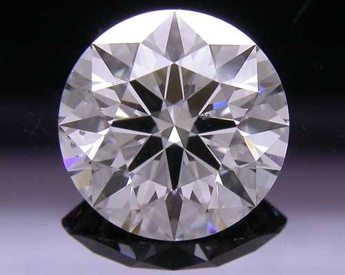 1.106 ct F SI1 A CUT ABOVE® Hearts and Arrows Super Ideal Round Cut Loose Diamond