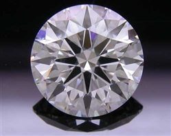 1.037 ct G VS2 A CUT ABOVE® Hearts and Arrows Super Ideal Round Cut Loose Diamond