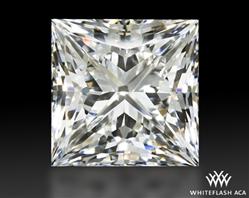 1.011 ct F VS2 A CUT ABOVE® Princess Super Ideal Cut Diamond