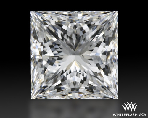 2.137 ct G VS2 A CUT ABOVE® Princess Super Ideal Cut Diamond