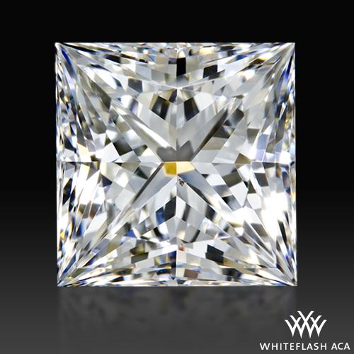 0.974 ct F SI1 A CUT ABOVE® Princess Super Ideal Cut Diamond
