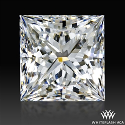 0.974 ct F SI1 A CUT ABOVE® Princess Super Ideal Cut Diamond