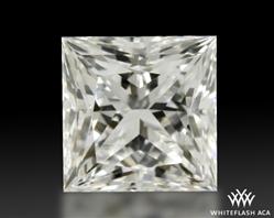 1.057 ct H SI1 A CUT ABOVE® Princess Super Ideal Cut Diamond
