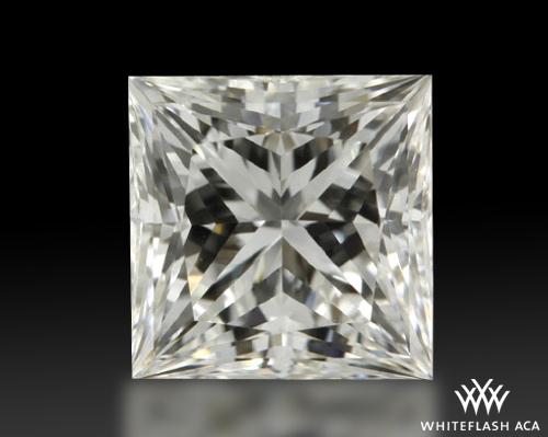 1.053 ct H VS2 A CUT ABOVE® Princess Super Ideal Cut Diamond