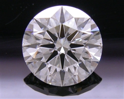 1.197 ct F VS2 A CUT ABOVE® Hearts and Arrows Super Ideal Round Cut Loose Diamond