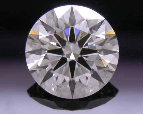 0.572 ct F SI1 A CUT ABOVE® Hearts and Arrows Super Ideal Round Cut Loose Diamond