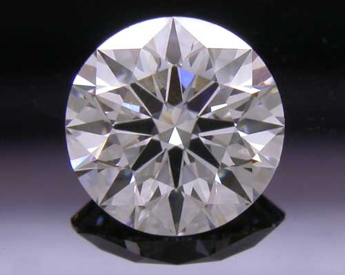 0.565 ct F SI1 A CUT ABOVE® Hearts and Arrows Super Ideal Round Cut Loose Diamond