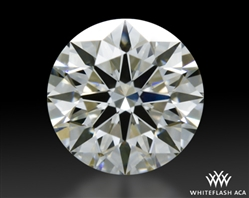 0.557 ct G VS1 A CUT ABOVE® Hearts and Arrows Super Ideal Round Cut Loose Diamond