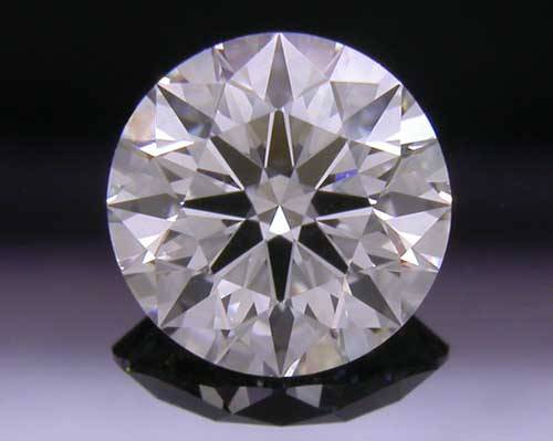 0.582 ct G VS2 A CUT ABOVE® Hearts and Arrows Super Ideal Round Cut Loose Diamond