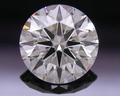 0.578 ct F SI1 A CUT ABOVE® Hearts and Arrows Super Ideal Round Cut Loose Diamond