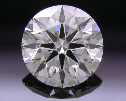 0.551 ct G VS2 A CUT ABOVE® Hearts and Arrows Super Ideal Round Cut Loose Diamond