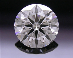 0.531 ct F VS2 A CUT ABOVE® Hearts and Arrows Super Ideal Round Cut Loose Diamond