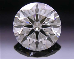 0.538 ct F VS1 A CUT ABOVE® Hearts and Arrows Super Ideal Round Cut Loose Diamond