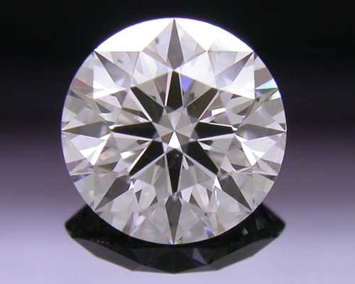 0.556 ct G SI1 A CUT ABOVE® Hearts and Arrows Super Ideal Round Cut Loose Diamond