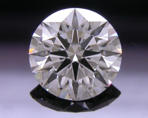 0.574 ct G VS2 A CUT ABOVE® Hearts and Arrows Super Ideal Round Cut Loose Diamond