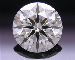 0.534 ct H SI1 A CUT ABOVE® Hearts and Arrows Super Ideal Round Cut Loose Diamond
