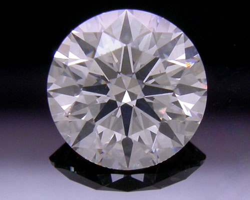 0.573 ct G SI2 A CUT ABOVE® Hearts and Arrows Super Ideal Round Cut Loose Diamond