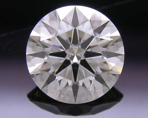 0.538 ct J SI1 A CUT ABOVE® Hearts and Arrows Super Ideal Round Cut Loose Diamond