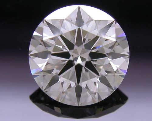 0.533 ct I SI2 A CUT ABOVE® Hearts and Arrows Super Ideal Round Cut Loose Diamond