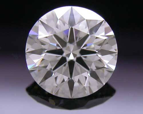 0.486 ct I VS1 A CUT ABOVE® Hearts and Arrows Super Ideal Round Cut Loose Diamond