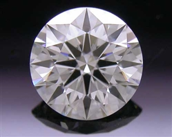 0.462 ct I VS1 A CUT ABOVE® Hearts and Arrows Super Ideal Round Cut Loose Diamond