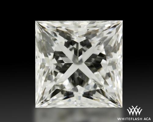 1.093 ct G VVS2 A CUT ABOVE® Princess Super Ideal Cut Diamond