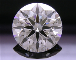 2.16 ct G VVS2 A CUT ABOVE® Hearts and Arrows Super Ideal Round Cut Loose Diamond