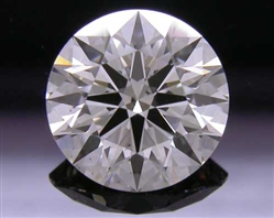 1.118 ct G SI2 A CUT ABOVE® Hearts and Arrows Super Ideal Round Cut Loose Diamond
