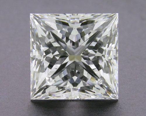 2.553 ct E VS1 A CUT ABOVE® Princess Super Ideal Cut Diamond