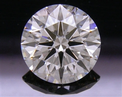 1.247 ct J SI1 A CUT ABOVE® Hearts and Arrows Super Ideal Round Cut Loose Diamond