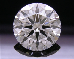 2.023 ct I SI2 A CUT ABOVE® Hearts and Arrows Super Ideal Round Cut Loose Diamond