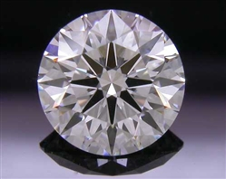 0.736 ct F VS1 A CUT ABOVE® Hearts and Arrows Super Ideal Round Cut Loose Diamond