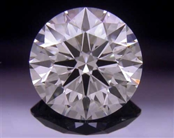 0.736 ct H SI1 A CUT ABOVE® Hearts and Arrows Super Ideal Round Cut Loose Diamond